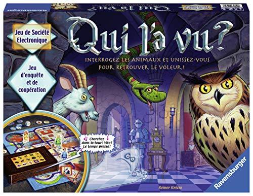 Ravensburger- Qui l'a vu ? - Jeu de société pour enfants - de 2 à 4 joueurs à partir de 6 ans - 21439 version française