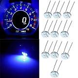 SCITOO 10Pcs 4.7mm Dash Light Bulbs Instrument Gauge Cluster Light Bulbs Speedometer Gauge Cluster Lights