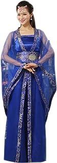 ZEVONDA Women's Chinese Traditional Hanfu Royal Dress Cosplay Halloween Costume