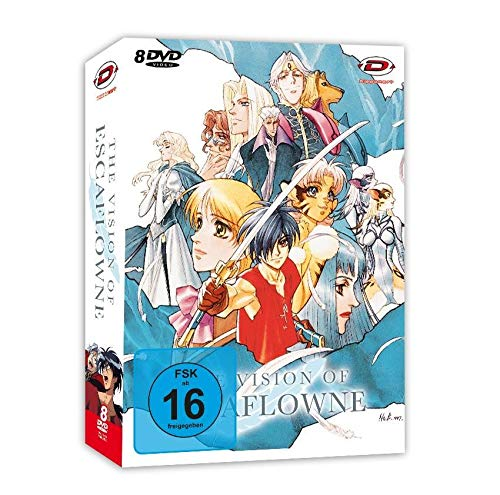 The Vision of Escaflowne - Die komplette Serie (Collector's Edition)  [8 DVDs]