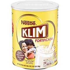 A whole-family powdered milk for all your drinking, cooking, and baking needs A good source of Vitamins A, C, and D, as well as calcium, iron, and zinc for healthy growth Easy to make. Simply add 4 tablespoons per cup of water and stir KLIM is the po...