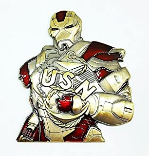 iron man medallion