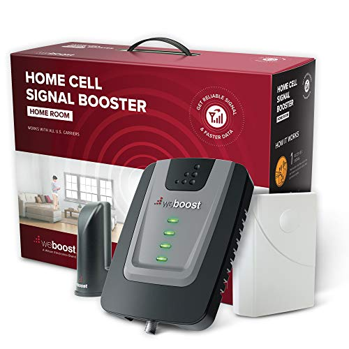 weBoost Home Room (472120) Cell Phone Signal Booster Kit   Up to 1,500 sq ft   All U.S. Carriers - Verizon, AT&T, T-Mobile, Sprint & More   FCC Approved