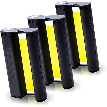 Pristar Kompatibel Tintenpatronen f/ür KP-108IN KP108 Farbband f/ür Canon Selphy CP1000 CP1200 CP1300 CP900 CP910 Fotodrucker 3er-Pack 100 x 148 mm ohne Papier