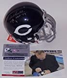 Dick Butkus Autographed Hand Signed Chicago Bears Authentic Mini Football Helmet - with HOF 79 Inscription - PSA/DNA