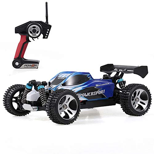 GoolRC A959 Ferngesteuertes Auto RC Auto 1/18 01h18 Maßstab 2.4G 4WD RTR WLtoys Off-Road Buggy RC Auto blau