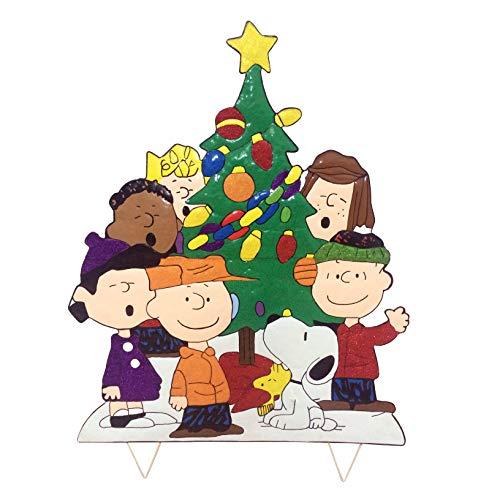 Peanuts Gang Around The Tree Christmas Decoration