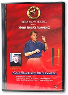 Birns and Sawyer 162243 Master Series of Filmmaking Color Measurement for Filmmakers