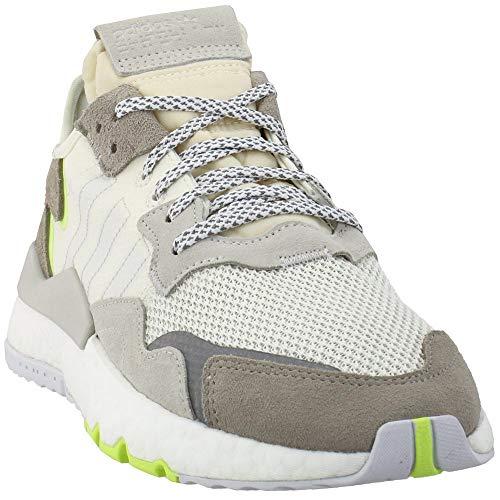 adidas Mujeres Nite Jogger Lace Up Zapatillas Zapatos Casual - Blanco, (Blancuzco), 44 EU