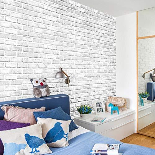 Papel pintado autoadhesivo de color blanco roto de contacto DIY impermeable autoadhesivo decorativo papel pintado cocina gabinetes cajón muebles pared 45x300cm