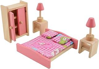 1//12 mobili casa delle bambole miniatura Scopa legno Casa delle Bambole Cucina Giardino toyshguk