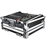 ProX Universal 10U 19' Topload Rack Mountable Live Sound Mixer Travel Hard Flight Case - T-MC