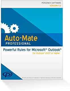 Auto-Mate Professional 7 for Outlook (64 bit) [Download]