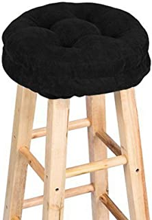 NVEOP Round Bar Stool Cushion 12 inch, Comfortable Sitting for Round Wooden or Metal Stools, Make Your Old Stool New(Stool...