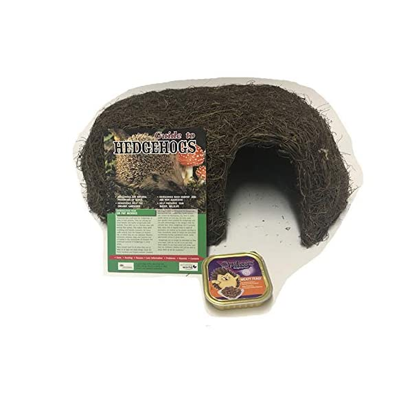 Everything Wildlife Hedgehog Care Pack - Shelter with Guide and Food