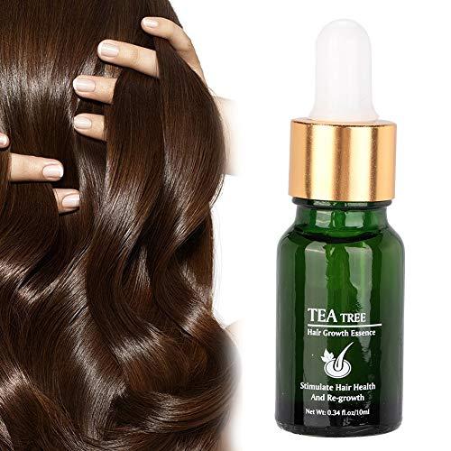 10 ml Professionelles Haarwachstumsserum, Haarwuchsessenz,Tee Leave Serum, Anti Haarausfall Behandlung, flüssige ätherische Pilatory Öle, Haarwachstumsserum zur Haarernährung, pflegende Haarpflege