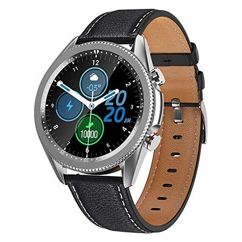 FZXL Hombres Smart Watch M98 Bluetooth Llamada Smart Reloj Tasa del Corazón Monitor De La Presión Arterial Rastreador De Fitness Deportes Smartwatch,A