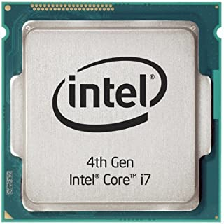 Intel Core i7-4770S 3.1GHz Procesador 8 MB L3 - Procesadores Intel® Core TM i7 (EME 4 generación, 22 NM, i7-4770S 3.1 GHz LGA Socket H3 (1150) PC,) (reacondicionado)