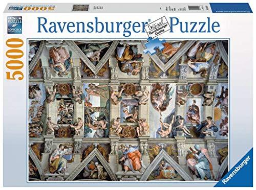Ravensburger- Cappella Sistina Puzzle, Multicolore, 5000 Pezzi, 17429