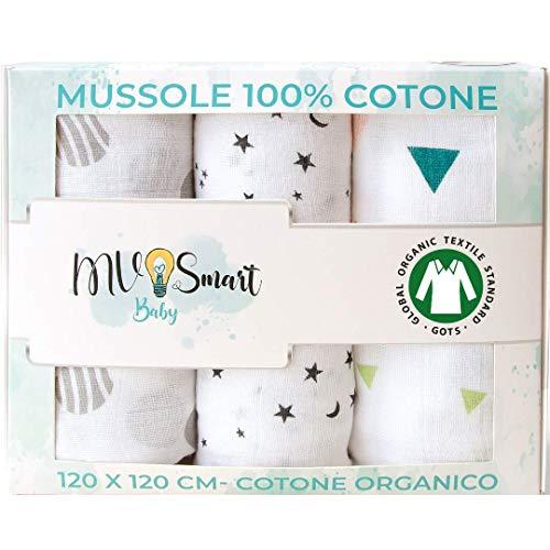 Mantas De Muselina Para Bebés 100% Algodón