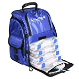 The Large 'Talysc' Fishing Backpack, Tackle Box Storage Bag - Non-Corrosive Fishing Tackle Bag with (4X) 3650 Boxes - Fisherman Gifts for Men, Tackle Bags, Backpacks and Tackle Box Organizer