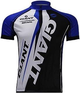 e74c002ab673b UONO Mens Short Sleeves Team Cycling Jersey Jacket Bicycle Bike Shirt