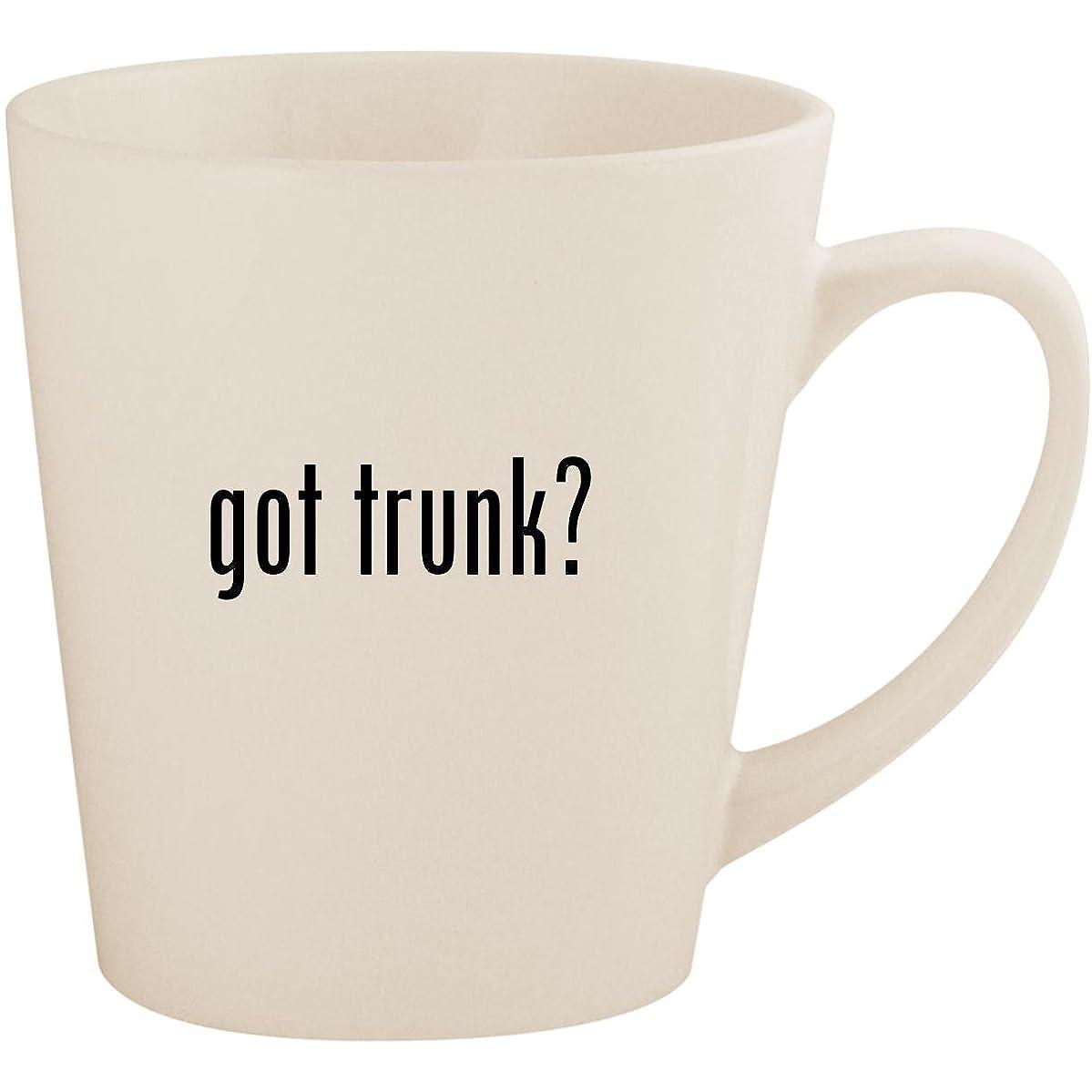 got trunk? - White 12oz Ceramic Latte Mug Cup