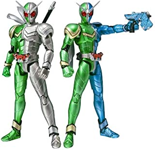 S.H. Figuarts - Kamen Rider W Cyclone Trigger & Cyclone Metal Action Figures by Bandai