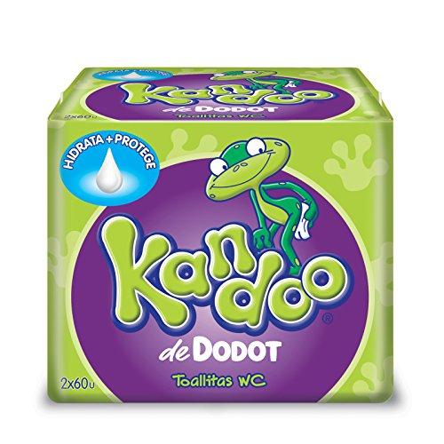 Dodot Kandoo Feuchtigkeitstücher, Melone - 120 Stück