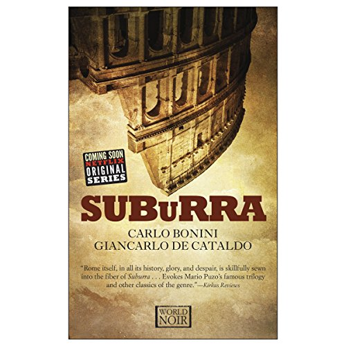 Suburra audiobook cover art