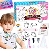Cheffun Unicorn Cooking and Baking Supplies Tool Set - Kitchen Accessories Cookie Cutters Kids Cooking Apron Chef Hat Toys Toddler Girls Ages 3 4 5 6 7 8 9 Years Old