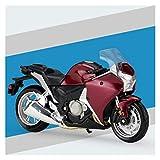 1:18 para VFR 1200F Escala Modelo De Motocicleta Aleación De Juguete Off-Road Racing Motorbike Juguetes (Color : 10)