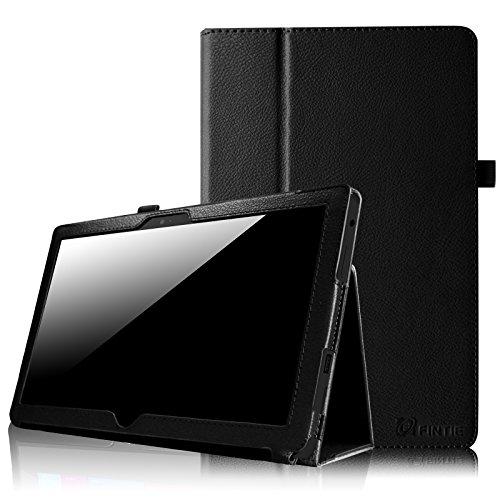 Fintie Schutzhülle für Microsoft Surface RT/Surface 2, 26,9 cm (10,6 Zoll), mit Stylus-Halterung, Schwarz