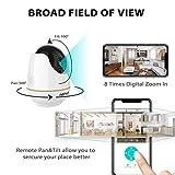 Zoom IMG-1 videocamera sorveglianza interno wifi netvue