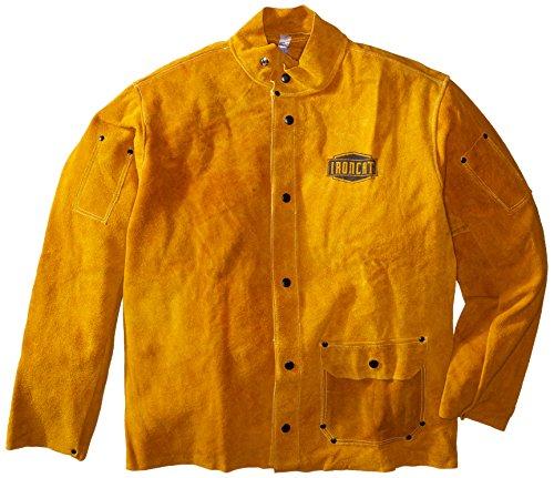 IRONCAT 7005 Heat Resistant Split Cowhide Leather Welding Jacket