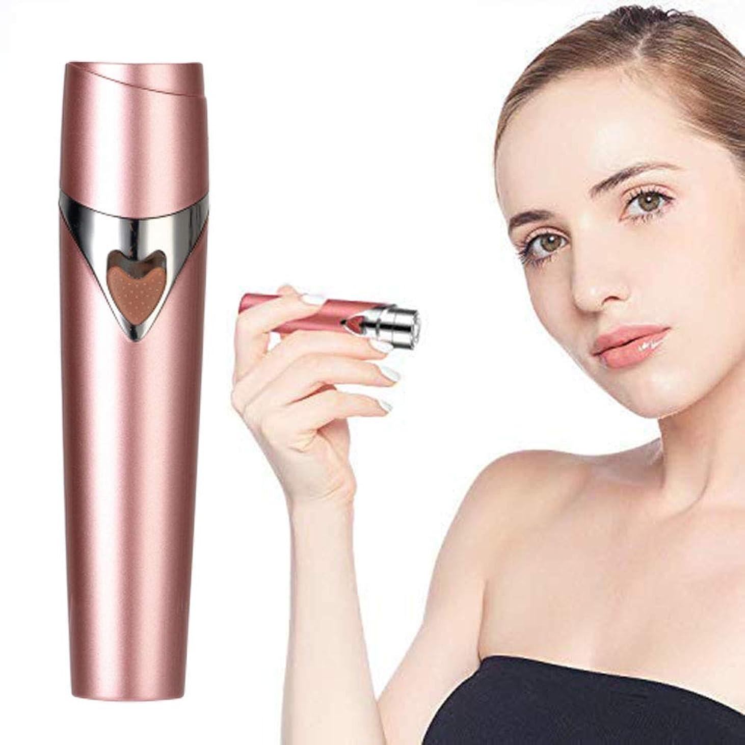 渇き組み合わせ職業顔の毛の除去剤、小型電気脱毛剤かみそりの毛の除去剤、顔、上唇、あご、頬およびボディ、痛みのない毛のトリマー、携帯用毛かみそりの脱毛剤