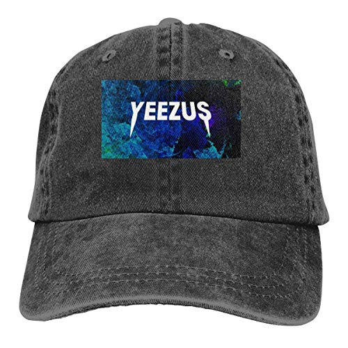 huatongxin Baseball Hat Yeezus Blue Classic Cowboy-Huts Black with Cap