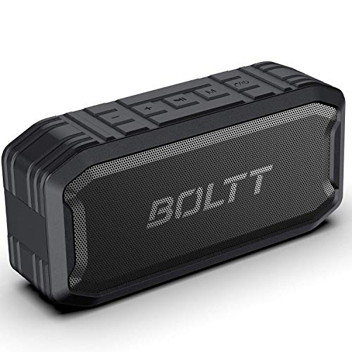 Boltt Fire-Boltt Xplode 1500 Portable Bluetooth Outdoor Speaker, IPX7 Waterproof & Weatherproof with Enhanced Bass (Black), (Model: BS1500)
