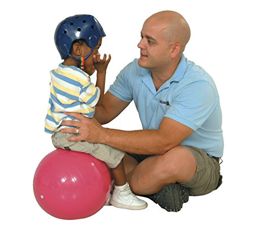 Gymnic Physio Balance Therapy Ball, 12 Inch, Pink, Holds 300 Pounds