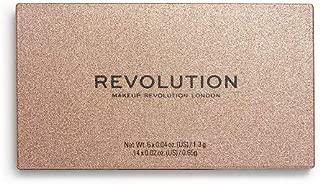 Makeup Revolution Precious Stone Shadow Palette Rose Quartz, Multicolor, 16 g