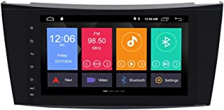 ZLTOOPAI für Mercedes Benz E Klasse W211 CLS W219 Android 10.0 Autoradio 8 Zoll Auto Stereo GPS Navigation Auto GPS Unterstützung Bildschirm Spiegel WiFi OBD2 SWC Rückfahrkamera