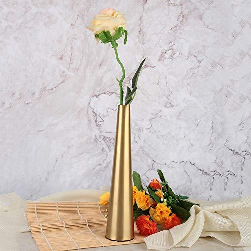 Vaso de mesa, vaso de decoração elegante, elegante e durável, brilhante para escritório doméstico