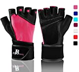 RIMSports Weight Lifting Gloves for Women - Weight Lifting Gloves for Men - Gym Gloves for Women - Weight Lifting Gloves Male - Weightlifting Gloves Men - Guantes para Gym Mujer - Workout Gloves