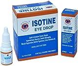 Isotine Eye Drop 1 Box (6x10 ml.) by Dr. M. S. Basu's