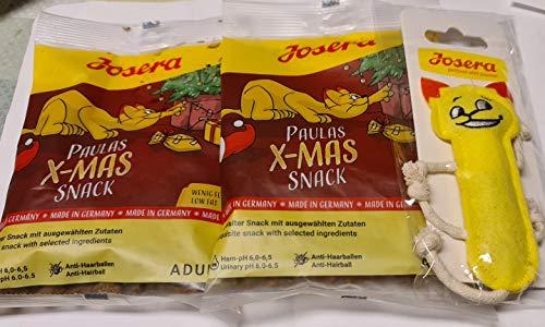 2 Josera Katensnacks und 1 Josera Paula der Kazen Weihnachtssnack Paket