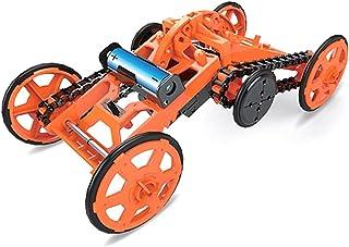 مجموعة ألعاب بناء علوم البناء الميكانيكية الكهربائية البرتقالية للأطفال من ليكوجيل