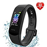 Fitness Tracker Aneken IP 67 Waterproof Smart Bracelet with Heart Rate Monitor Activity