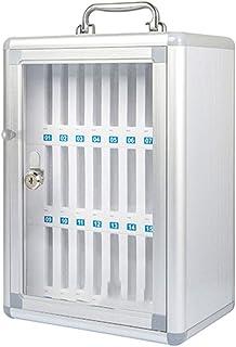 Armoire De Rangement pour Téléphone Portable Coffre-Fort Examen D'usine Scolaire Travail Serrure Transparente avec Casier ...
