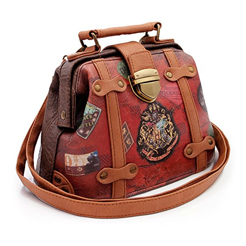 Karactermania Harry Potter Railway-Doctor Shoulder Bag Umhängetasche, 20 cm, Braun (Brown)