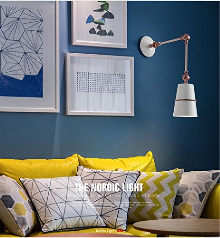 StiefelU LED Wandleuchte nach oben und unten Wandleuchten Rückwand der Restaurant Cafe wei Schlafzimmer Doppelbett Korridor verstellbare Wandleuchte